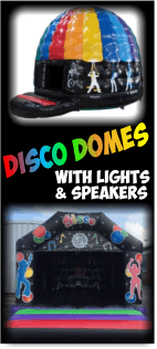 View our Fabulous range of Disco Domes for hire!