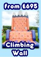Hire Inflatable Climbing Wall